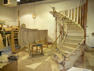 At Southeastern Stair Company We Can Streamline You Project By Prebuilding  The Stair And Installing It In One Piece. This Not Only Saves Time But Also  Saves ...